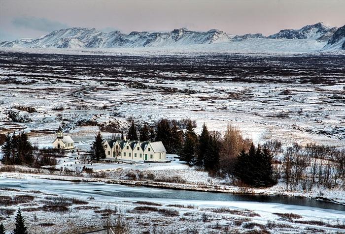 viaje a islandia luces magicas navidad